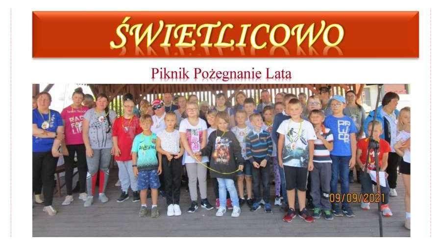 Miesięcznik Świetlicowo - nr 20 - wrzesień 2021 r.