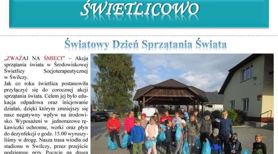 Miesięcznik Świetlicowo - nr 21 - listopad 2021 r.